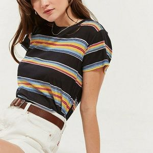 Urban Outfitters | Little Brother Striped Tee